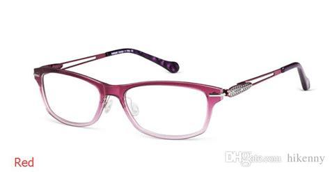 fashion womens eyeglass frames eye glasses blue orange