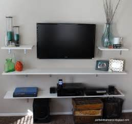 tv shelving ideas 17 best ideas about tv shelving on tv wall