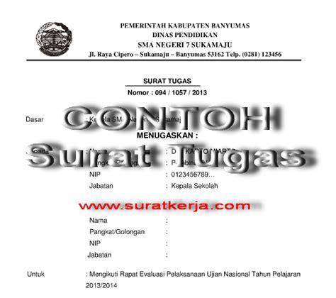 Contoh Surat Perjalanan Dinas Perusahaan Swasta by Surat Tugas Dan Surat Perintah Perjalanan Dinas Sppd