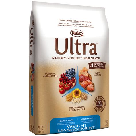 nutro food nutro ultra weight management food 15 lb