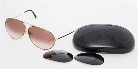 porsche by 5621 aviator sunglasses with and