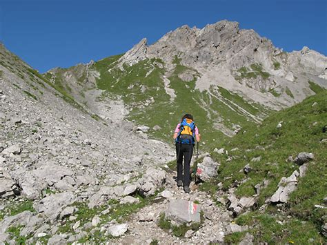 roter stein bergtour lechtaler alpen gps track tourentippde