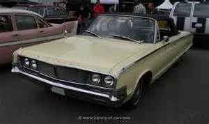chrysler 1965 newport convertible the history of cars