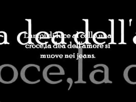 jovanotti ti porto via con me with lyrics doovi