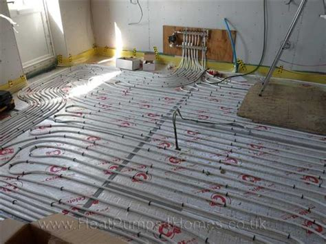 ufh layout software the underfloor heating system was then installed in