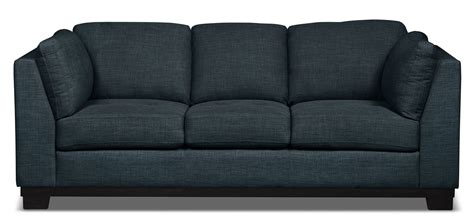 denim fabric sofa oakdale linen look fabric sofa denim the brick