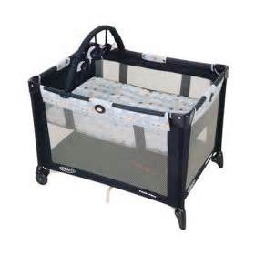 Playard Vs Crib by Graco Pack N Play Portable Playard With Bassinet Rise