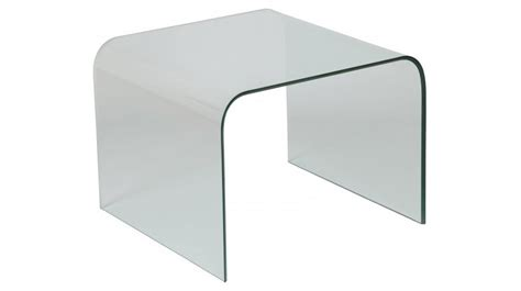 bouts de canap bout de canap 233 design verre courb 233 carr 233 table basse en