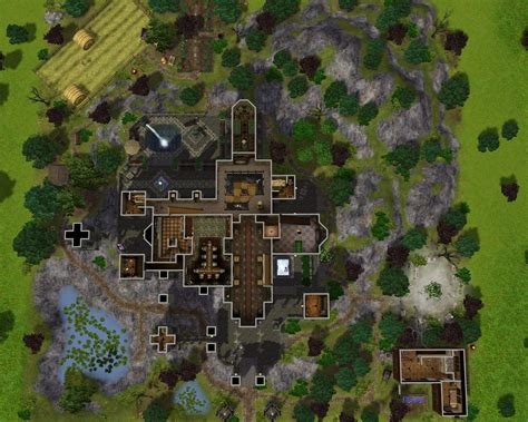 Mansion Floor Plans Free mod the sims vampire castle