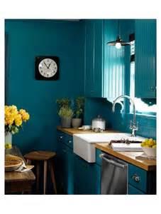 Kitchen Decoration Idea cuisine bleu 25 id 233 es d 233 co cuisine bleue