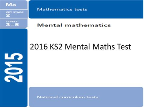 new year 2016 ks2 powerpoint 13 ks2 maths tests in a powerpoint format from 2016 2015