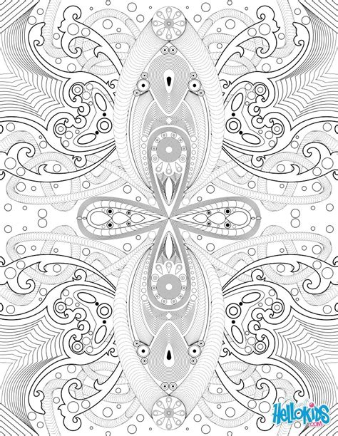 Arabesque coloring pages   Hellokids.com