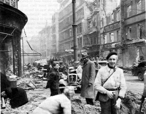 berlin the downfall 1945 berlin street in may of 1945 after the fall