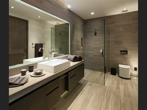 Modern Bathroom Idea - home on studded oriole way
