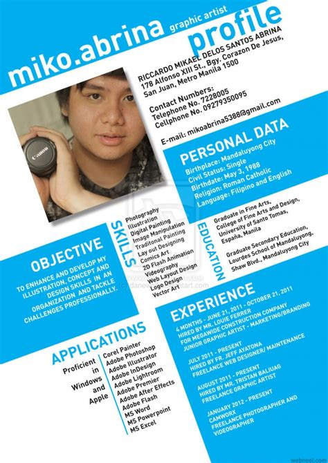 creative resume designs 50 creative resume design sles that will make you
