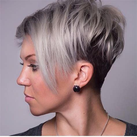 unique short hairstyles   faces  confident