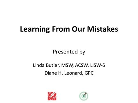 Learning From Your Mistakes Essay by Learning From Our Grant Writing Mistakes
