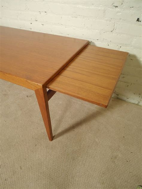 Coffee Table That Extends Up Extending Coffee Table For Sale At 1stdibs