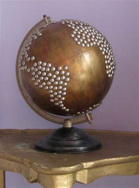 globe home decor 25 recycling ideas turning globes into home
