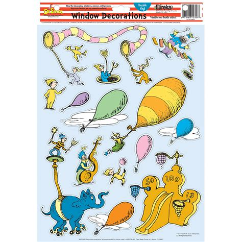 Places You Go dr seuss oh the places you ll go window clings eureka