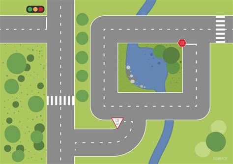 printable road maps for toy cars 10 best images of printable road for cars free printable