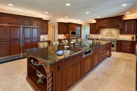 Kitchen Design by Custom Kitchen Designs Kitchen Design I Shape India For