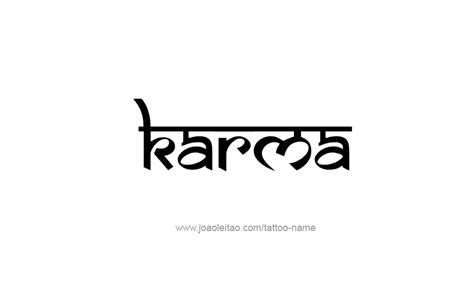 symbol for karma tattoo designs karma name designs karma designs and
