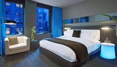 blue hotel room where to stay in montreal the best modern luxury and