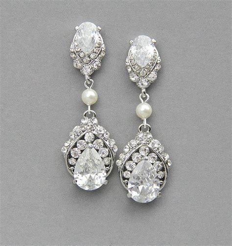 Vintage Bridal Chandelier Earrings Wedding Earrings Chandelier Earrings Bridal Earrings Vintage Wedding Pearl Earrings