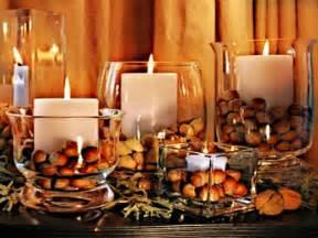 Autumn candle decoration other amp entertainment