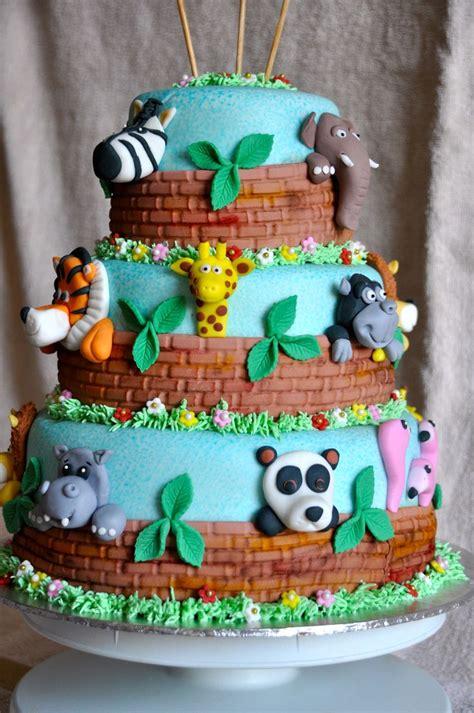 zoo themed birthday cake ideas zoo animal cake cakes for kids pinterest zoos zoo