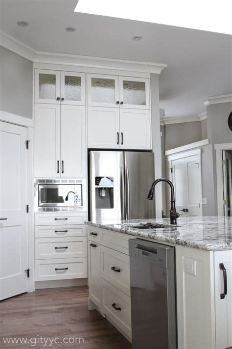 Paint Kitchen Cabinets Cabinets Interior Doors And All Trim Bm Mascarpone Wall