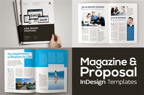 Magazine Proposal Indesign Templates Dealjumbo Com Discounted Design Bundles With Extended Indesign Web Page Template