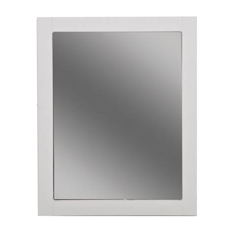 Bathroom Mirror White Exceptional White Bathroom Mirrors 4 White Bathroom Wall Mirror Bloggerluv