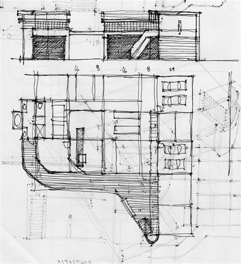sketch plans architectural sketching of an architect