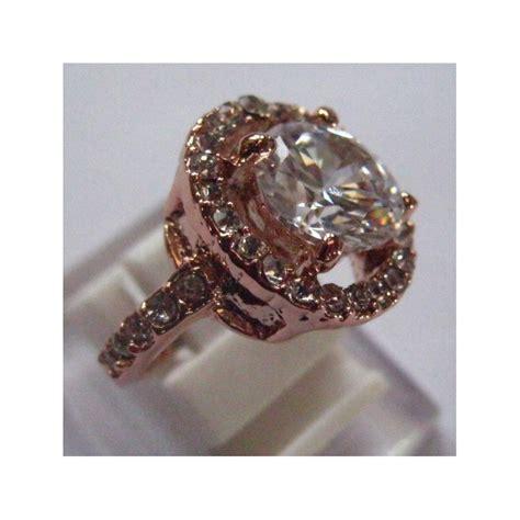 Cincin Gold cincin fashion wanita gold 9k filled ring 7us