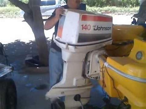 johnson 140 hp v4 youtube