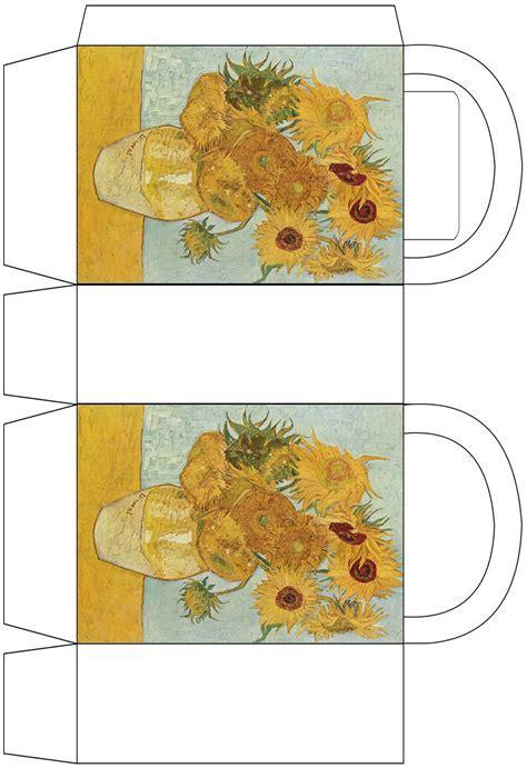 Van Gogh ?Sunflowers? Party Bag   Rooftop Post Printables