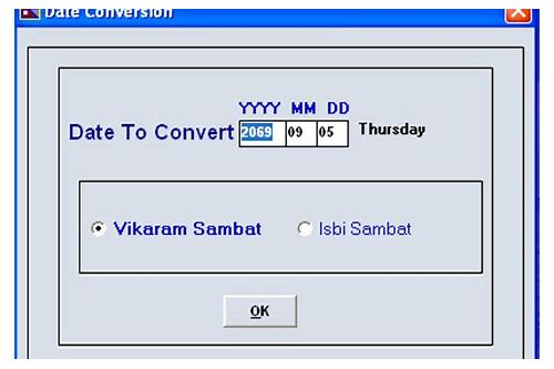nepali date converter software download