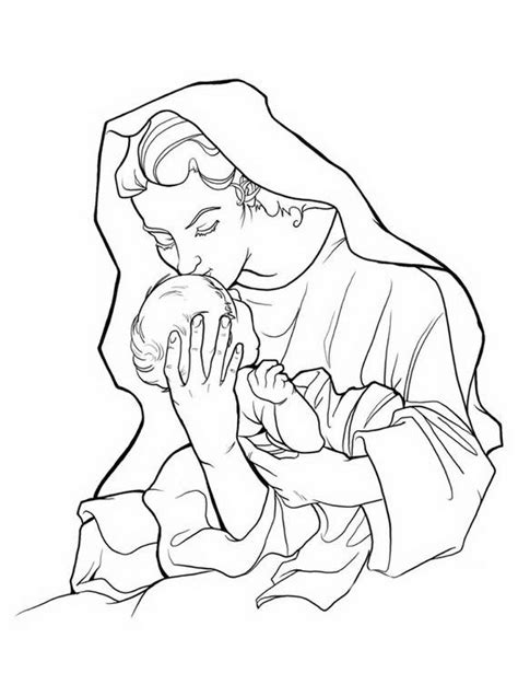 coloring page blessed virgin mary blessed virgin mary coloring pages coloring pages