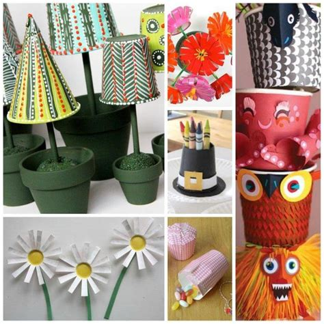 Crafts With Paper Cups - best 25 paper cup crafts ideas on craft