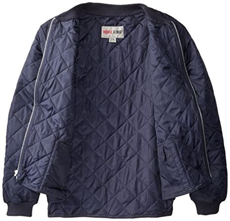 Outer Outwear Outerwear Jaket Oversize Oversized Abu Abu Biru work king s quilted freezer jacket navy large sports apparel in the uae see prices