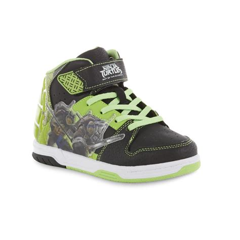 turtle light up shoes nickelodeon boy s mutant turtles green light