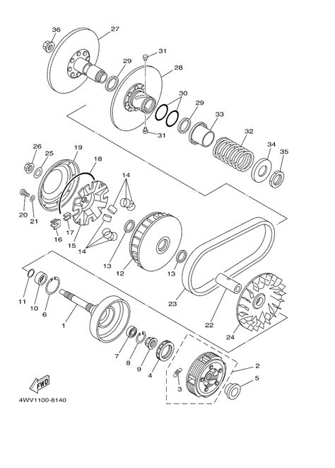 2001 yamaha grizzly 600 engine diagram diagram auto