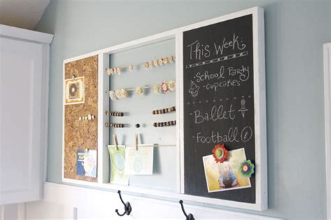home design message board get organized command centers the inspired room
