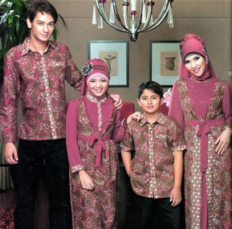 Kaos Suami 35 model baju muslim pasangan suami istri dan anak