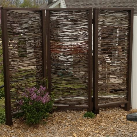 Outdoor Patio Privacy Screen by Backyard Privacy Screen Ideas Marceladick
