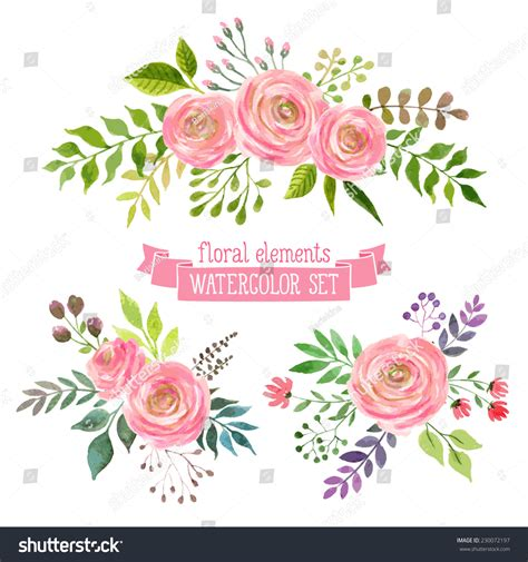 Patch Floral Bordir Bunga vector flowers set colorful floral collection stock vector