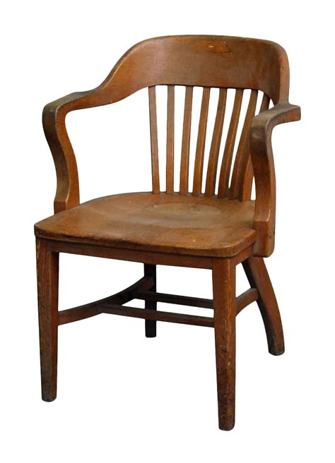 antique bankers chair repair oak vintage bankers chair chairish