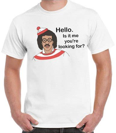 Kaos Lionel Richie Hello 05 hello is it tees you looking for lionel richie mens t
